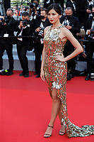 """CANNES, FRANCE - JULY 17: Gemma Chan at the final screening of """"OSS 117: From Africa With Love"""" and closing ceremony during the 74th annual Cannes Film Festival on July 17, 2021 in Cannes, France. <br /> CAP/GOL<br /> ©GOL/Capital Pictures"""