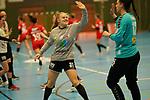 Funke Jenice SV Union Halle Neustadt mit Nr.31 // Handball Bundesliga Frauen / Kurpfalz Baeren gegen SV Union Halle-Neustadt / 20.02.2021<br /> <br /> Foto © PIX-Sportfotos *** Foto ist honorarpflichtig! *** Auf Anfrage in hoeherer Qualitaet/Aufloesung. Belegexemplar erbeten. Veroeffentlichung ausschliesslich fuer journalistisch-publizistische Zwecke. For editorial use only.