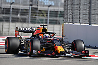25th September 2021; Sochi, Russia; F1 Grand Prix of Russia  qualifying sessions;  33 VERSTAPPEN Max nld, Red Bull Racing Honda RB16B