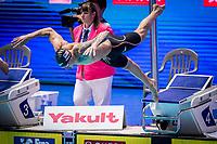 Caeleb Dressel of USA in act at men's 100m butterfly final during 18th Fina World Championships Gwangju 2019 at Nambu University Municipal Aquatics Centre, Gwangju, on 27  July 2019, Korea.  Photo by : Ike Li / Prezz Images