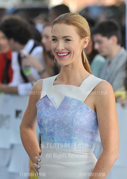 Bridget Regan at the 2015 MTV Movie Awards at the Nokia Theatre LA Live.<br /> April 12, 2015  Los Angeles, CA<br /> Picture: Paul Smith / Featureflash