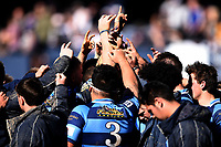Nelson College, during the 1st XV South Island Final rugby match between Otago Boys High School 1st XV and Nelson College 1st XV at Littlebourne in Dunedin, New Zealand on Saturday, 31 August 2019. Photo: Joe Allison / lintottphoto.co.nz