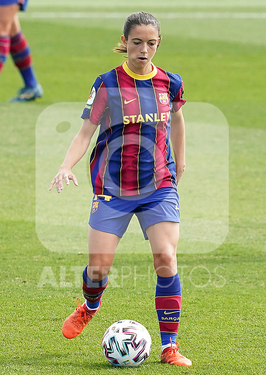 First official match and first classic in the history of women's Real Madrid.<br /> FC Barcelona's Aitana Bonmati during Spanish Female League match. October 4,2020. (ALTERPHOTOS/Acero)