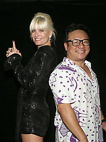 Los Angeles, CA -October 16: Eugenia Kuzmina, Jimmy Shin, attends Shindig Comedy Show at Silver Lake Community Church in Los Angeles California on October 18, 2020. Credit: Faye Sadou/MediaPunch