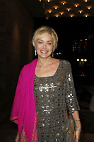 MIAMI BEACH - FL - NOVEMBER 10, 2007: Basic Instint vixen Actress Sharon Stone returns to her Miami Hotel <br /> <br /> <br /> People:  Sharon Stone
