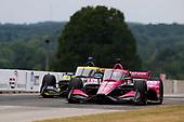 #60: Jack Harvey, Meyer Shank Racing Honda, #26: Colton Herta, Andretti Autosport Honda