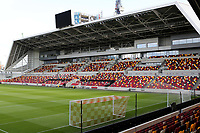 General view of Brentford FC's new stadium during Brentford vs Fulham, Caraboa Cup Football at the Brentford Community Stadium on 1st October 2020