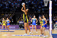 Aliyah Dunn of the Pulse during the ANZ Premiership Netball - Te Wānanga o Raukawa Pulse v Northern Mystics at TSB Bank Arena, Wellington, New Zealand on Monday 10 May 2021.<br /> Photo by Masanori Udagawa. <br /> www.photowellington.photoshelter.com