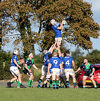 Saturday 10th October 2020 | Ballynahinch vs Queens<br /> <br /> Connor McMenamin during the Energia Community Series clash between Ballynahinch and Queens at Ballymacarn Park, Ballynahinch, County Down, Northern Ireland. Photo by John Dickson / Dicksondigital