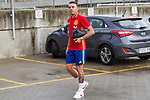 Spainsh Iago Aspas  arriving at the concentration of the spanish national football team in the city of football of Las Rozas in Madrid, Spain. August 28, 2017. (ALTERPHOTOS/Rodrigo Jimenez)