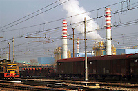 - Mantova, chemical industrial area, power station ENI Power<br /> <br /> - mantova, zona industriale chimica, centrale elettrica ENI Power