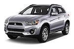 2015 Mitsubishi ASX Diamond Edition 5 Door SUV Angular Front stock photos of front three quarter view