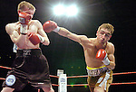 Pic Kenny Smith 29/04/2006.Alex Arthur defends his European Super featherweight title against Sergei Gulyakevich at meadowbank stadium