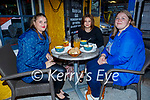 Enjoying the evening in Brogue Inn on Friday, l to r: Sarah Dynan, Rachel O'Brien and Katie Dynan.