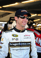 Feb 07, 2009; Daytona Beach, FL, USA; NASCAR Sprint Cup Series driver Kelly Bires during practice for the Daytona 500 at Daytona International Speedway. Mandatory Credit: Mark J. Rebilas-
