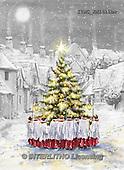 Marcello, CHRISTMAS SYMBOLS, WEIHNACHTEN SYMBOLE, NAVIDAD SÍMBOLOS, paintings+++++,ITMCXM1411BW,#XX# ,Christmas tree,
