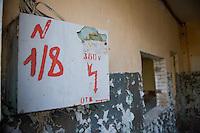 Abandoned russian military barrack. A former secret military city of the GSSD-Troops in the GDR.<br /> 9.2.2014<br /> Copyright: Christian-Ditsch.de<br /> [Inhaltsveraendernde Manipulation des Fotos nur nach ausdruecklicher Genehmigung des Fotografen. Vereinbarungen ueber Abtretung von Persoenlichkeitsrechten/Model Release der abgebildeten Person/Personen liegen nicht vor. NO MODEL RELEASE! Don't publish without copyright Christian-Ditsch.de, Veroeffentlichung nur mit Fotografennennung, sowie gegen Honorar, MwSt. und Beleg. Konto:, I N G - D i B a, IBAN DE58500105175400192269, BIC INGDDEFFXXX, Kontakt: post@christian-ditsch.de<br /> Urhebervermerk wird gemaess Paragraph 13 UHG verlangt.]