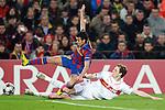 Barcelona's Pedro Rodriguez during Champions League match. March 17, 2010. (ALTERPHOTOS/Tati Quinones)