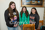 Emma Connaire from Tralee celebrating her 15th birthday in Bella Bia on Saturday. L to r: <br /> Emma Connaire, Clodagh McCluskey, Emma and Kayleigh Connaire