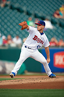 Buffalo Bisons pitcher Thomas Pannone (47) during an International League game against the Syracuse Mets on June 29, 2019 at Sahlen Field in Buffalo, New York.  Buffalo defeated Syracuse 9-3.  (Mike Janes/Four Seam Images)