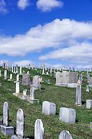 Hillside cemetery, Ephrata, Pennsylvania, USA