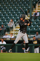 Jupiter Hammerheads Riley Mahan (2) during a Florida State League game against the Bradenton Marauders on April 19, 2019 at LECOM Park in Bradenton, Florida.  Bradenton defeated Jupiter 7-1.  (Mike Janes/Four Seam Images)