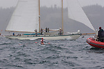 Open water racing, North American Open Water Championship, racing, competition, Port Townsend, Washington State, Pacific Northwest, Puget Sound, USA, Diane Davis, 37, South End Rowing Club, W OW II, Maas 24, spectator schooner,