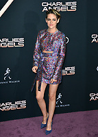 """LOS ANGELES, USA. November 12, 2019: Kristen Stewart at the world premiere of """"Charlie's Angels"""" at the Regency Village Theatre.<br /> Picture: Paul Smith/Featureflash"""