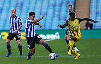 Sheffield Wednesday's Massimo Luongo battles with Watford's Domingos Quina<br /> <br /> Photographer Alex Dodd/CameraSport<br /> <br /> The EFL Sky Bet Championship - Sheffield Wednesday v Watford - Saturday 19th September 2020 - Hillsborough Stadium - Sheffield <br /> <br /> World Copyright © 2020 CameraSport. All rights reserved. 43 Linden Ave. Countesthorpe. Leicester. England. LE8 5PG - Tel: +44 (0) 116 277 4147 - admin@camerasport.com - www.camerasport.com