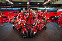 Ducati team celebrate  <br /> Jack Miller winner, Gigi Dall'Igna, Pecco Bagnaia 2nd <br /> Jerez 03/05/2021 Spain MotoGP<br /> Photo Mediahouse.ducati.com / Insidefoto <br /> EDITORIAL USE ONLY