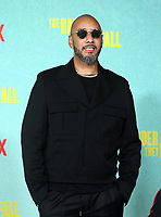 LOS ANGELES, CA - OCTOBER 13: Swizz Beatz, at the Special Screening Of The Harder They Fall at The Shrine in Los Angeles, California on October 13, 2021. Credit: Faye Sadou/MediaPunch