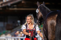 AUS-Rebecca Gerold presents Shannon Queen during the First Horse Inspection. 2021 SUI-FEI European Eventing Championships - Avenches. Switzerland. Wednesday 22 September 2021. Copyright Photo: Libby Law Photography