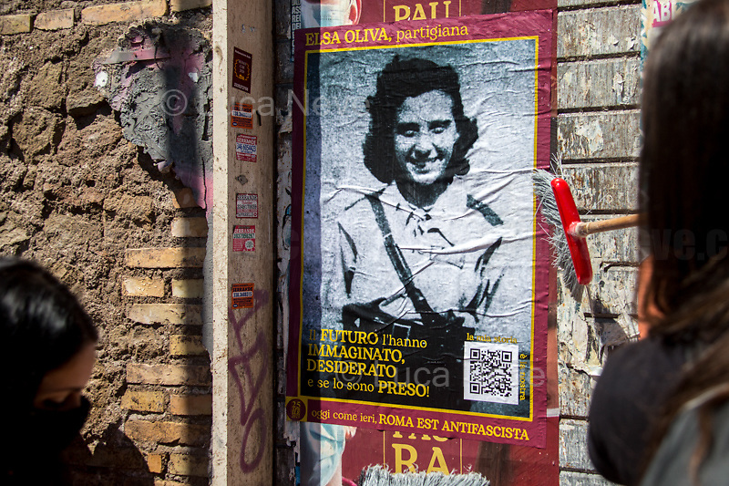Elsa Oliva, WWII Italian Partizans, Member of the Italian Resistance (Please check the QR Code to read her Story).<br />