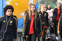 20190304 - LARNACA , CYPRUS :  Belgian Zandy Soree pictured during a women's soccer game between Nigeria and the Belgian Red Flames , on Monday 4 th March 2019 at the GSZ Stadium in Larnaca , Cyprus . This is the third and last game in group C for both teams during the Cyprus Womens Cup 2019 , a prestigious women soccer tournament as a preparation on the Uefa Women's Euro 2021 qualification duels. PHOTO SPORTPIX.BE | DAVID CATRY