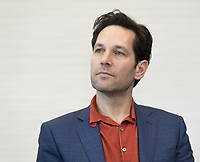 """Paul Rudd, who stars in 'Avengers: Endgame"""", at the InterContinental Hotel in Los Angeles. Credit: Magnus Sundholm/Action Press/MediaPunch ***FOR USA ONLY***"""