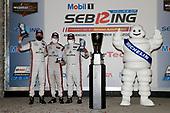 #6 Acura Team Penske Acura DPi, DPi: Juan Pablo Montoya, Dane Cameron, Simon Pagenaud, podium, Bibendum, Michelin Man