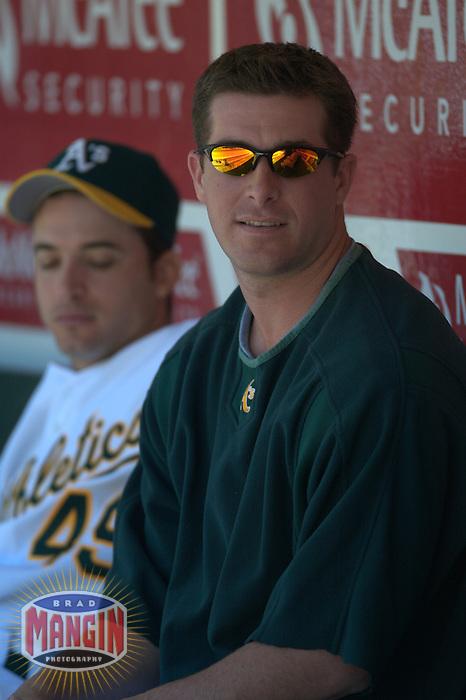 Mark Mulder. Baseball: Toronto Blue Jays vs Oakland Athletics. Oakland, CA 6/6/2004 MANDATORY CREDIT: Brad Mangin