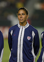 Shannon Boxx, USWNT vs. Costa Rica, September 1, 2003.