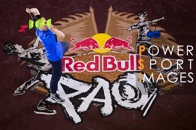Athletes in action during the Red Bull PAO 2015 at the National Taiwan Science Education Centre in Taipei, Taiwan. Photo by Aitor Alcalde / Power Sport Images