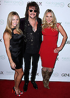 BEVERLY HILLS, CA, USA - JULY 24: Nikki Leigh, Richie Sambora, Nikki Lund at the Genlux Magazine Summer July 2014 Issue Release Party held at the Luxe Hotel on July 24, 2014 in Beverly Hills, California, United States. (Photo by Xavier Collin/Celebrity Monitor)