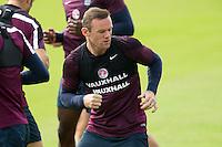 Wayne Rooney of England during training