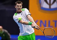 11-12-12, Rotterdam, Tennis, Masters 2012, Antal van der Duim