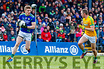 Tommy Walsh, Kerry in action against Conor McGill, Meath  during the Allianz Football League Division 1 Round 4 match between Kerry and Meath at Fitzgerald Stadium in Killarney, on Sunday.
