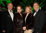 From left: Dr. Barry Barrett and his wife Sandy with Susan Krohn and Patrick Gehm at the Discovery Green Gala Saturday Feb 25,2012. (Dave Rossman/For the Chronicle)