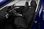 Front seat view of a 2020 Audi A4 Advanced 4 Door Sedan front seat car photos
