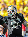 Baylor Bears offensive tackle Cyril Richardson (68) in action during the game between the Southern Methodist Mustangs and the Baylor Bears at the Floyd Casey Stadium in Waco, Texas. Baylor defeats SMU 59 to 24.