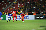 Singapore vs Malaysia during the 2014 AFF Suzuki Cup Group B match on November 29, 2014 at the Singapore National Stadium in Singapore. Photo by World Sport Group