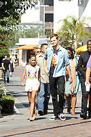 Alexander Ludwig, Amandla Stenberg, Dayo Okeniyi  Jack Quaid.<br /> Hunger Game Kids stop in to launch their DVD and sign autographs for fans. West Hollywood, CA. August 20,2012.<br /> <br /> Copyright/The MediaCircuit/NortePhoto.com<br /> <br /> **CREDITO*OBLIGATORIO** <br /> *No*Venta*A*Terceros*<br /> *No*Sale*So*third*<br /> *** No Se Permite Hacer Archivo**