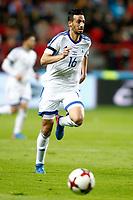 Israel's Daniel Einbinder during FIFA World Cup 2018 Qualifying Round match. March 24,2017.(ALTERPHOTOS/Acero) /NortePhoto.com