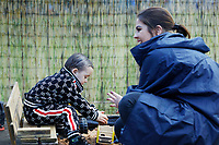 2019 03 21 Julie Morgan visits day nursery in cardiff, Wales, UK